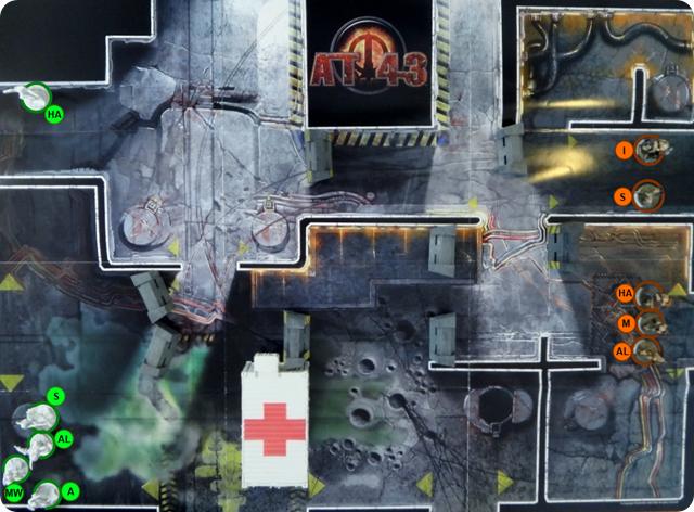 MERCS Spielbericht KemVar - CCC - Aufbau