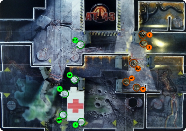 MERCS Spielbericht KemVar - CCC - Runde 1