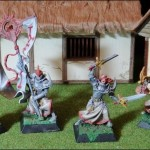 Confrontation - Severian und Befehlsstab der Templer