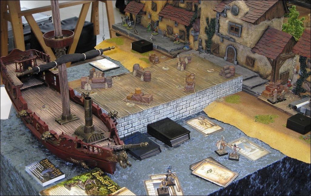 Bremer Spiele-Tage 2014 Vorschau - Freebooters Platte