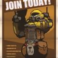 MERCS CCC Propaganda Poster