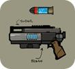 MERCS USCR Ice Grenade Gun