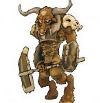 MYTH MERCSMinis Kickstarter Roundup Minotaur Boss