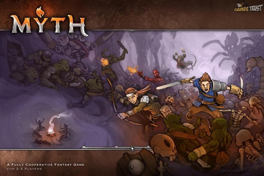 MYTH Ein MERCSMinis Kickstarter Cover