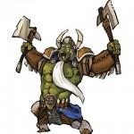 MYTH MERCSMinis Kickstarter Roundup Orc Boss