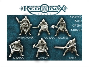 Internet Schatztruhe 14-02 - Red Box Games Norse Warrior Miniatures