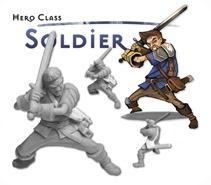 MYTH Ein MERCSMinis Kickstarter Soldier