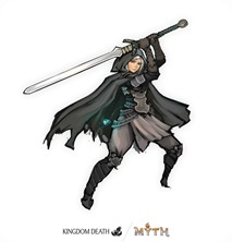 MYTH MERCSMinis Kickstarter Twilight Knight