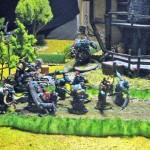 Gripping Beasts Saga Orks halten die Mühle