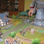 Gripping Beasts Saga Aufeinandertreffen vor der Mühle