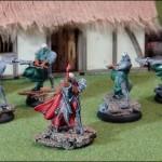 Confrontation - Arkeon Sanath und Krieger der Morgenröte
