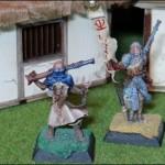 Confrontation - Saphon der Prediger und Musketenschütze