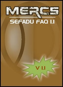 MERCS sefadu FAQ v1.1