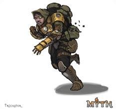 MYTH MERCSMinis Kickstarter Trickster