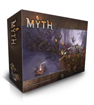 MYTH Ein MERCSMinis Kickstarter Box