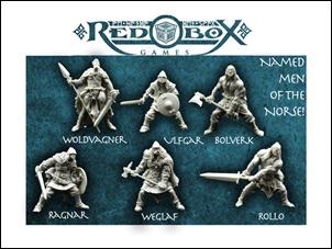 Internet Schatztruhe 14-02 - Red Box Games Norse Warrior Miniatures